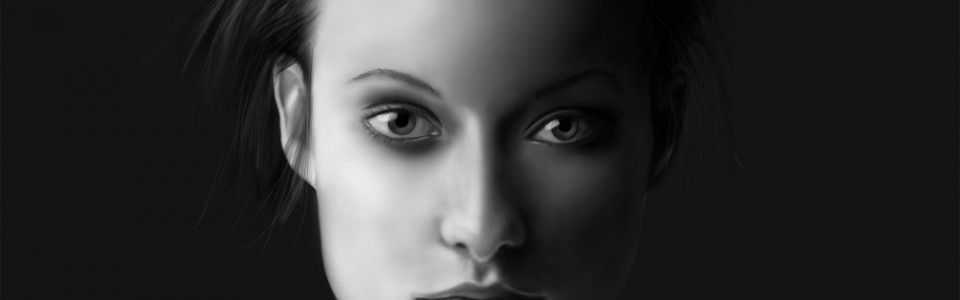 Olivia Wilde Portrait Painting