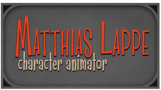Matthias Lappe – Character Animator